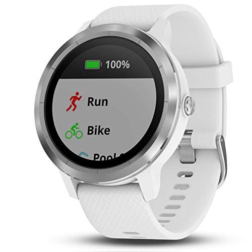 Garmin vívoactive 3 GPS-Fitness-Smartwatch - vorinstallierte Sport-Apps, kontaktloses Bezahlen mit Garmin Pay - 3
