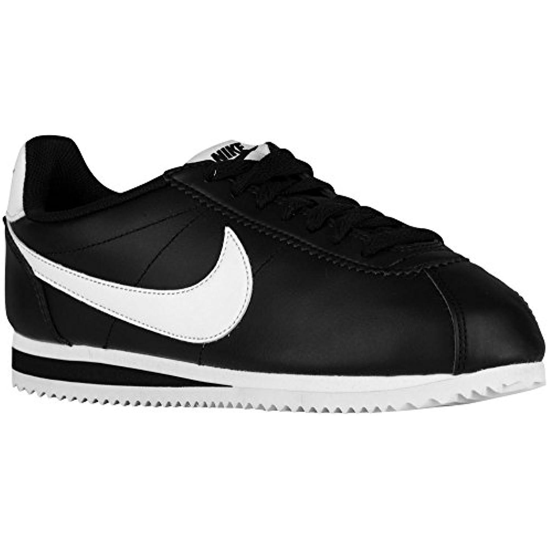Nike Femme Noir Classic Cortez Leather Noir Femme - B0728KX29P - ba5d72
