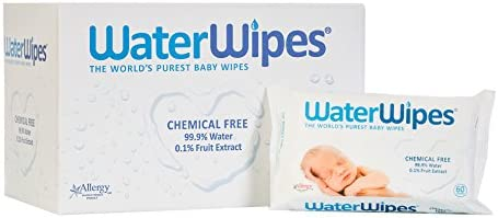 12-Pks WaterWipes Sensitive Baby Wipes