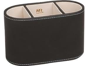 Madelcar porta telecomandi ovale per 3 telecomandi nero - Porta telecomandi ...
