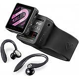 Energy Sistem Sport 2508 - Reproductor MP4 con auriculares deportivos (8 GB, brazalete y radio FM) deep black