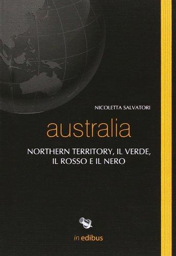 Australia. Northern territory, il verde, il rosso e il nero