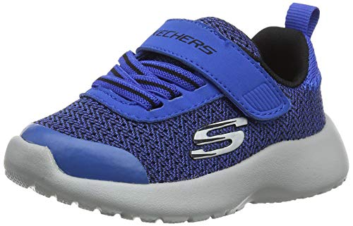 Skechers Dynamight-Ultra Torque, Sneaker Bimbo, Blu (Royal Black Rybk), 26 EU