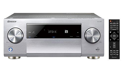 Pioneer 11.2 AV Receiver, SC-LX901, 200 Watt/Kanal, Class-D-Verstärker, Air Studios-Zertifizierung, 4K UltraHD, Dolby Atmos, DTS:X, WLAN, Bluetooth, Hi-Res Streaming, Musik Apps, Multiroom, Silber (Av-receiver Class-d)