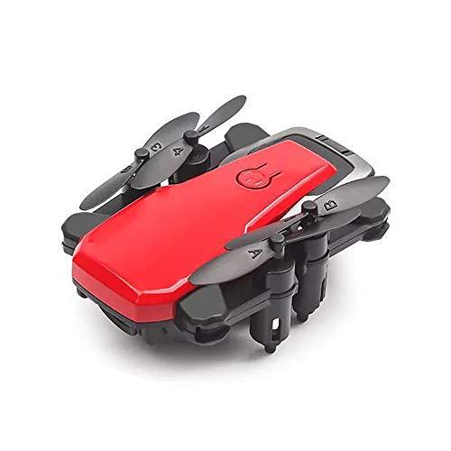 CWWHY WiFi FPV Drohne Mit 720P HD Kamera Live Video RC Quadcopter Mit APP Steuerung, Altitude Hold, One Key Take Off, Für Anfänger Und Kinder,Red Portable Video-sender