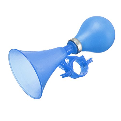 JenNiFer Squeeze Honking Horn Hooter Bell Cycle Hooter Für Kinder Kinderfahrrad 4 Farben - Blau