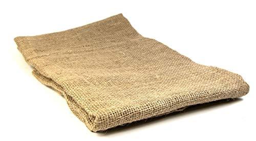 mgc24® Jutesack aus Naturfaser, Winterschutz für Pflanzen gegen Kälte/Frost, 100x110cm Natur
