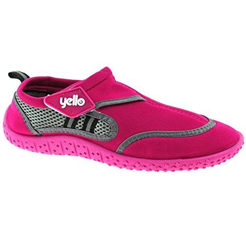 Yello Berry, Chaussures De Plongée Pour Femmes One Size Pink