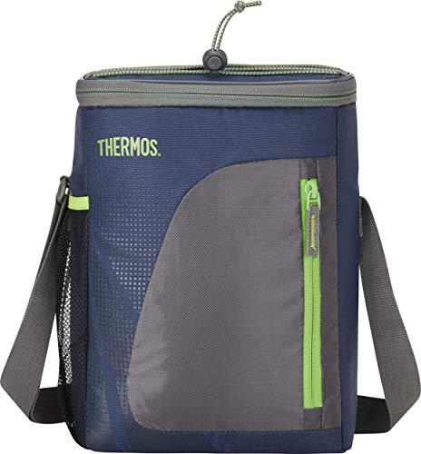 THERMOS 4081.252.085 Kühltasche Radiance, Polyester Blau 8,5 l, IsoTec Premium Isolierung, BPA-Free