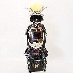 ZSPXIN Escritorio decorationantique Armadura Japonesa Samurai Armadura pequeño Hotel Restaurante Estudio decoración de Escritorio -A