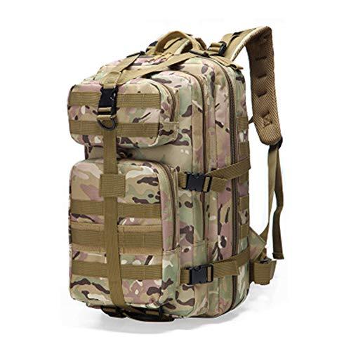 XBTECH Molle Wanderrucksack, kleine Rucksäcke, Camping, taktisches Design, mehrere Taschen, Wandern im Freien, Kampf, Militär, Taktischer Rucksack 4