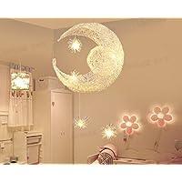 Luna e le stelle e creativo per lampadari personalit¨¤ Ristorante Bar Terrazza Camera apparecchi per illuminazione calda minimalista bambini