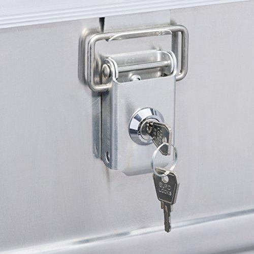 2er Set Sicherheitsschlösser für Aluminiumboxen Allit AluPlus 420012
