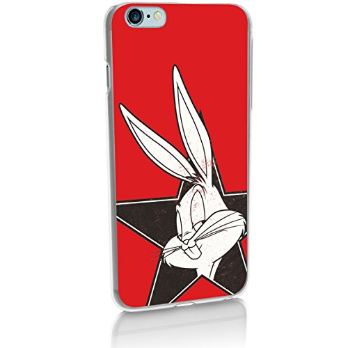Hardcase Looney Tunes Bugs Bunny Série 2 - LOONEY TUNES bleu, Iphone 7 Bugs (Bogues) Tete 2 rouge