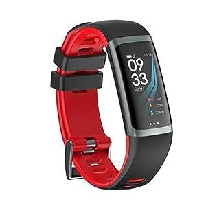 Laileya Pantalla en Color G26 Pulsera Bluetooth Smart rastreador de corazón Relojes Tasa de Monitoreo de la presión Arterial Impermeable Inteligente Aptitud del Reloj Control de Actividad 1