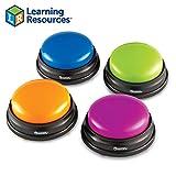 Learning Resources- Botones de Respuesta (Set de 4), Color (LER3774)