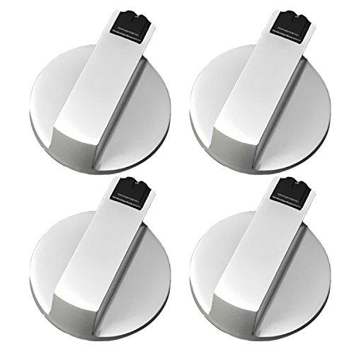 4 Piezas Botón del Horno de Cocina, Gosear universal metal interruptor giratorio...