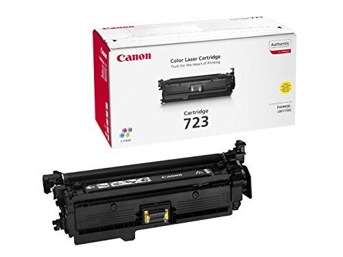 Canon Original Yellow Laser Toner Cartridge 723 on Line