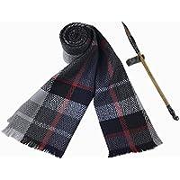 Los hombres de engrosamiento calido otoño invierno bufanda, bufanda cálida y confortable el regalo del negocio,F