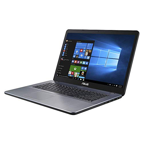 ASUS VivoBook 17 F705UA 90NB0EV1-M05320 43,9 cm (17,3 Zoll, FHD, WV, Matt) Notebook (Intel Core i5-8250U, 8GB RAM, 256GB SSD, Intel UHD-Grafik 620, Windows 10) star grey (Gb Asus Laptop Ram 8)