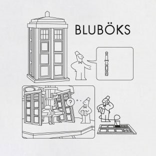TEXLAB - Bluböks - Langarm T-Shirt Schwarz