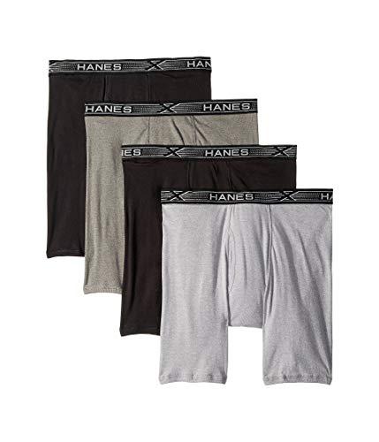 latinum X-Temp Combed Cotton Long Leg Boxer Briefs ()
