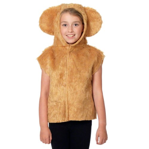 Drei Bären Kostüm - Unbekannt Charlie Crow Bär Kostüm Für Kinder - Einheitsgröße 3-8 Jahre.
