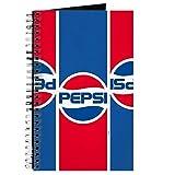 CafePress Pepsi Flashback Logo-Notizbuch, Spiralbindung, persönliches Tagebuch, liniert