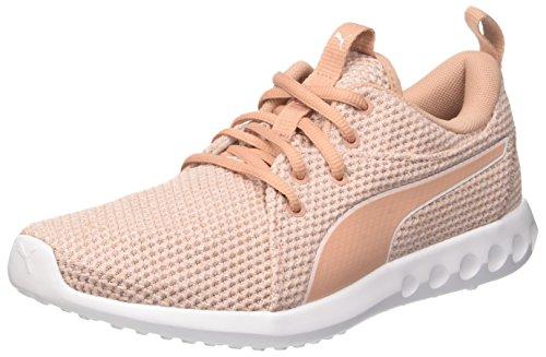 Puma Damen Carson 2 Nature Knit Wn's Cross-Trainer, Pink (Pearl-Peach Beige), 39 EU