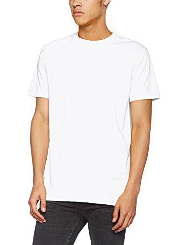 James & Nicholson Herren Men's Workwear T-Shirt Weiß (White)