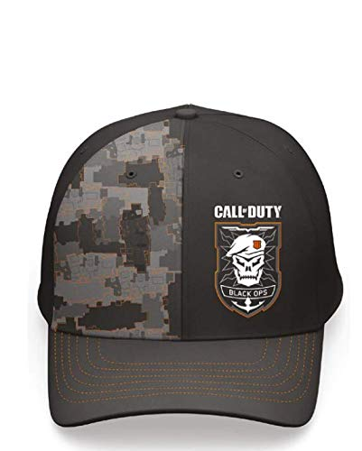 Call of Duty Black Ops 4 Camo Curved Bill Snapback Armee-logo-baseball-cap