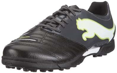 Puma PowerCat 3.12 TT 102480, Herren Sportschuhe - Fußball, Schwarz (black-dark shadow-white-lime punch 02), EU 44 (UK 9.5) (US 10.5)