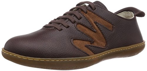 El Naturalista El Viajero, Low-Top Sneaker unisex adulto, Marrone (Marrone), 46