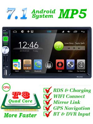 TOYOUSONIC Android 7.1 Radio Coche 2 DIN Bluetooth