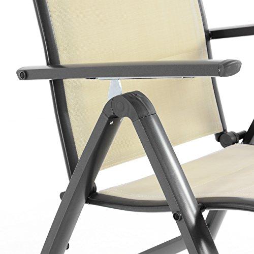 nexos-deluxe-klappstuhl-gepolstert-textilene-creme-rahmen-dunkelgrau-gartenstuhl-liegestuhl-klappbarer-stuhl-aus-aluminium-kunststoff-3