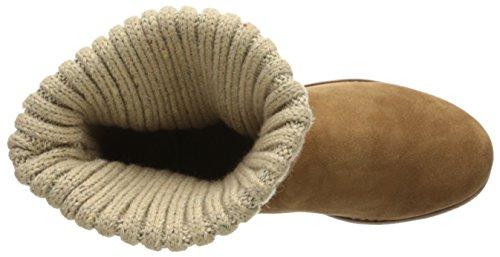 Skechers Adorbs, Bottes Classiques femme Marron (Noisette)