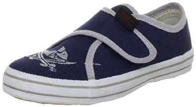 Capt'n Sharky 140006, Jungen Gymnastikschuhe, Blau (blau/grau), 21 EU