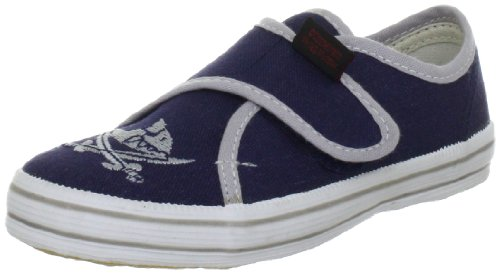 Capt'n Sharky 140006 Jungen Gymnastikschuhe Blau (Blau/Grau)