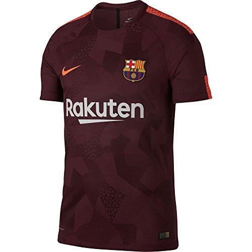 Nike FC Barcelona Trikot, Kinder, Bordeaux/Orange, 12–13Jahren