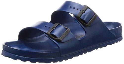 Birkenstock 129431 Classic Arizona Eva, Unisex Adults' Mules, Blue (Blue), 8 UK...