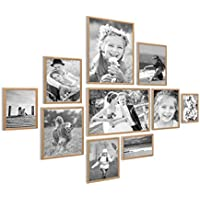 Bilderrahmen Fotogalerie Bildergalerie Fotorahmen Collage ✅für 4 Fotos ✅10x15cm