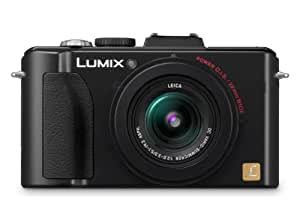 Panasonic Lumix LX5 10.1MP Digital Camera - Black (3.0 inch TFT LCD Display, 1/1.63 inch CCD, f/2.0 LEICA Summicron Lens with 3.8x optical zoom)
