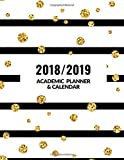 "2018/2019 Academic Planner and Calendar: Essential Weekly and Monthly Schedule Diary, At A Glance Calendar Appointment Organizer with Motivational ... Size 8.5""x11"", Paperback (Academic Journals)"