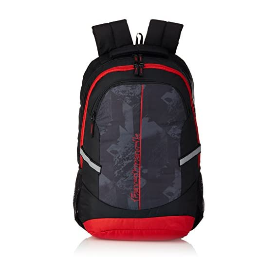 Fastrack 29.89 Ltrs Red School Backpack (A0711NRD01)