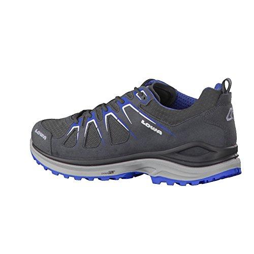 Lowa 310611-9340, Scarpe stringate uomo asphalt/blau