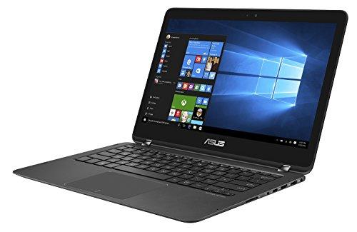 """PC Portable - ASUS Zenbook Flip UX360UAK-BB324T Noir - Intel Core i7-7500U 8 Go SSD 512 Go 13.3"""" LED Full HD Tactile Wi-Fi AC/Bluetooth Webcam Windows 10 Famille 64 bits (garantie constructeur 2 ans)"""
