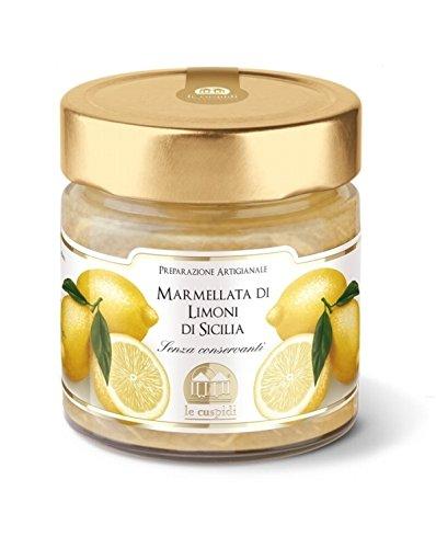 Marmellata di Limoni di Sicilia Le Cuspidi Prodotta in modo assolutamente artigianale con Limoni sic