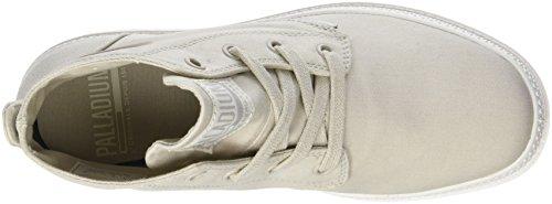 Palladium Damen Pampa Free Canvas Hohe Sneaker Grau (Rainy Day/marshmallow L72)