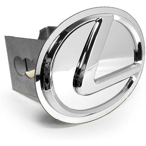 Lexus Cromado), diseño 3d Logo metal Remolque Hitch cubierta, oficial