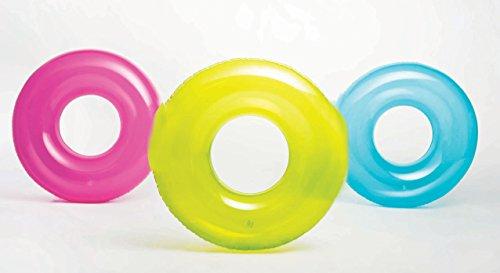 Intex Schwimmring transparent in 3 Farben phthalatfrei 76 cm Durchmesser